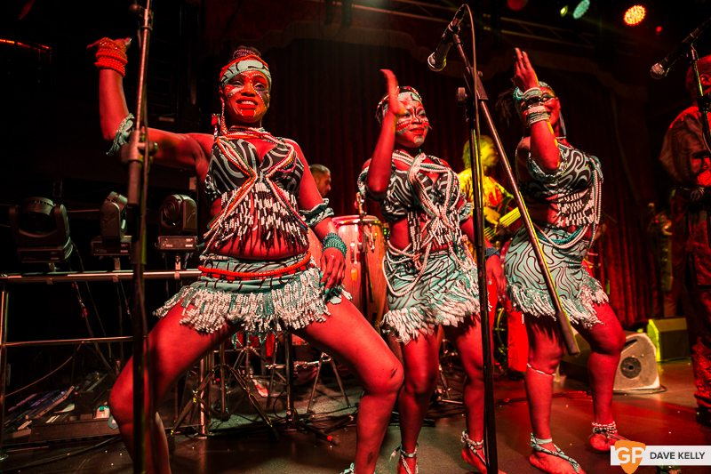 Femi Kuti at The Academy on 8 July