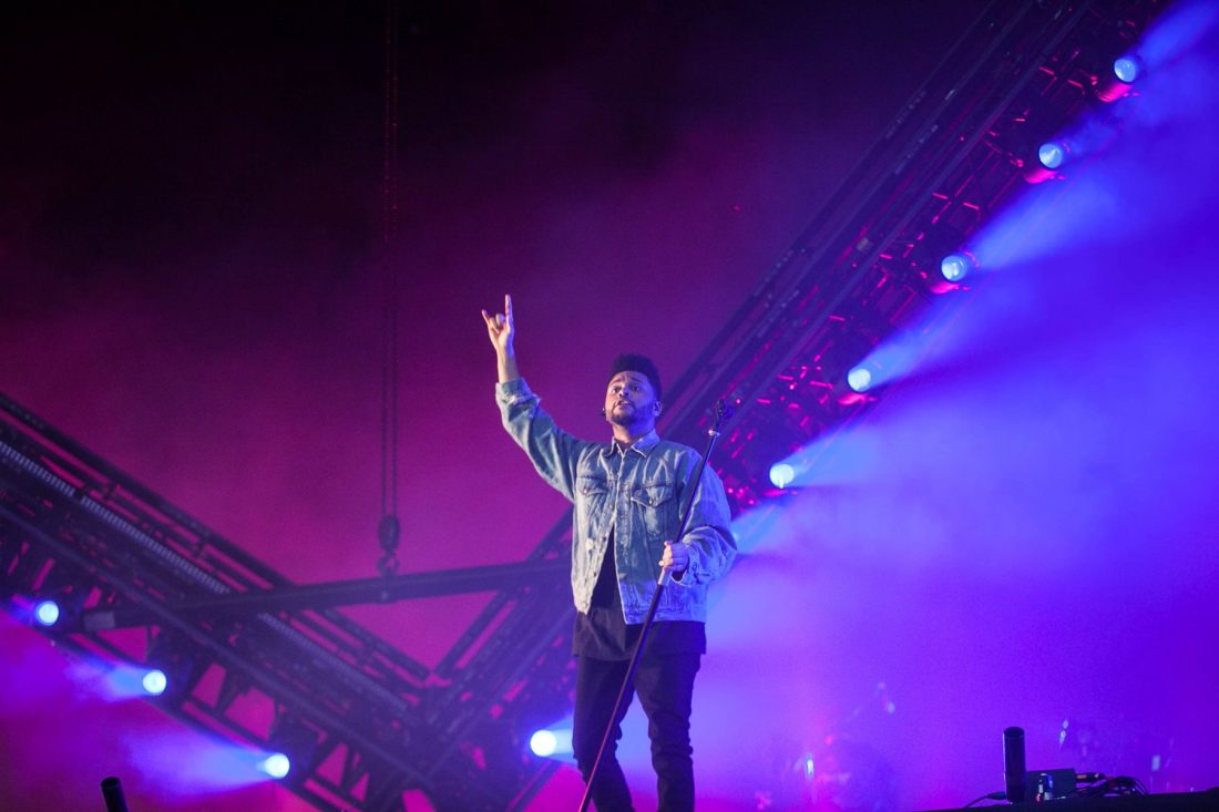 The Weeknd at Longitude