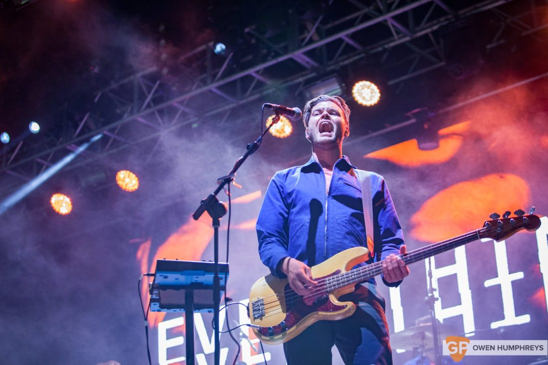 Everything Everything live at Electric Picnic