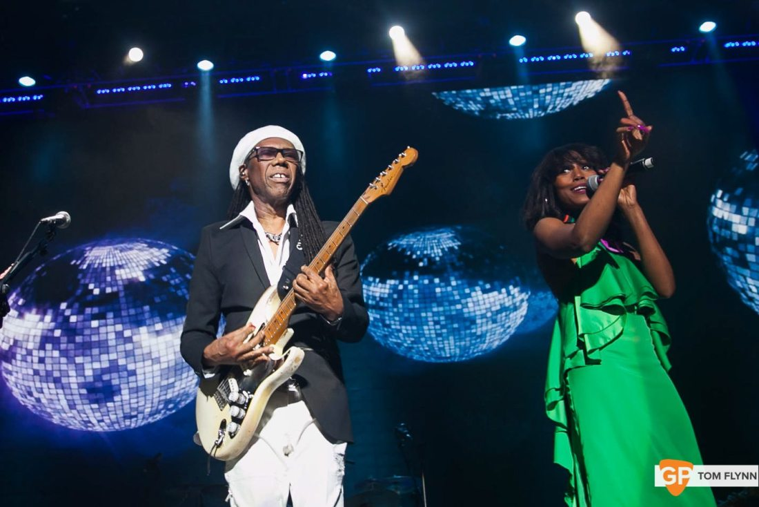 Chic & Nile Rodgers at The 3Arena