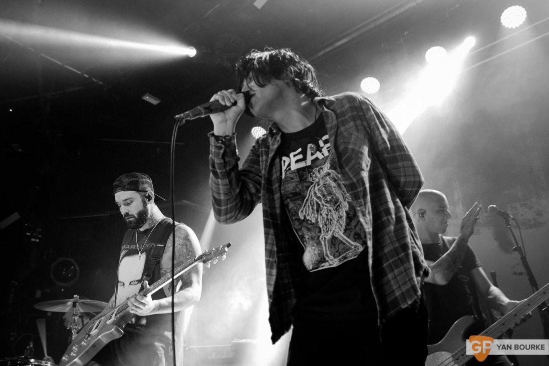 Sleeping with Sirens at the Academy on 6 November 2017 by Yan Bourke