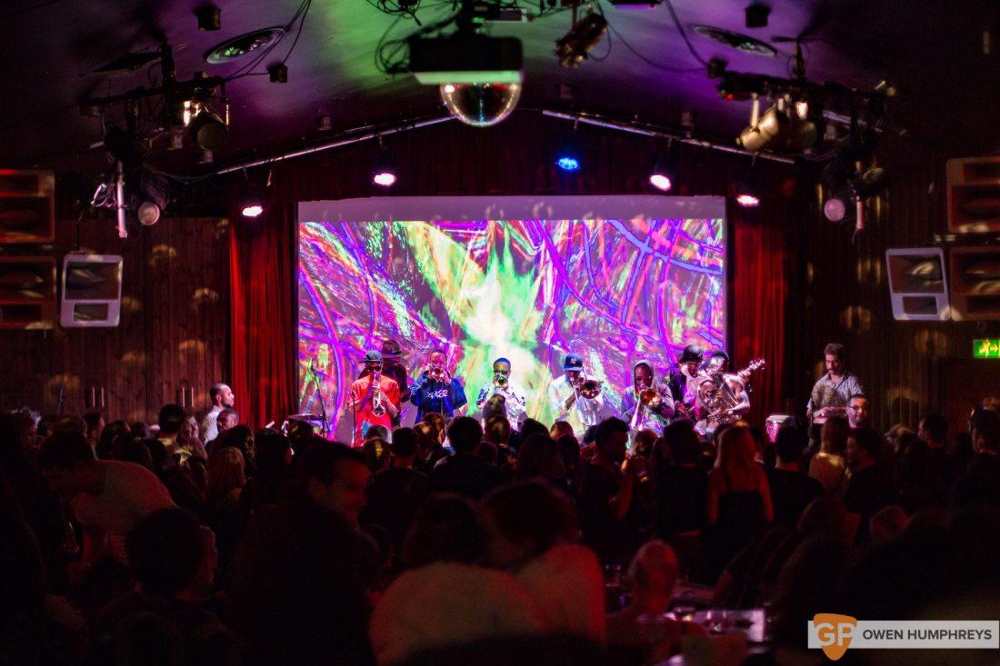 Hypnotic Brass Ensemble at The Sugar Club (16 of 17)
