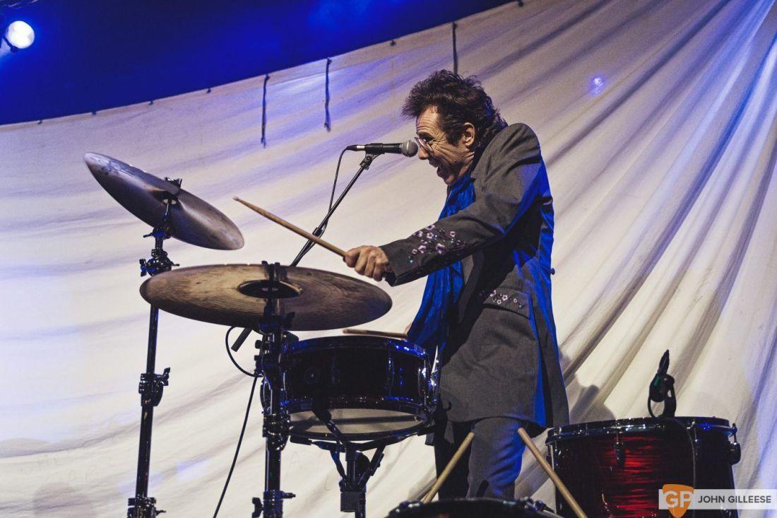 Slim Jim Phantom in concert at Academy, Manchester, UK – 31 Jan 2018