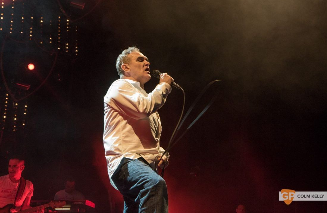 Morrissey at The 3Arena, Dublin 20.2.2018 by Colm Kelly-2-201