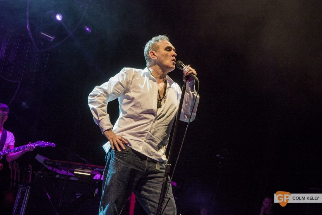 Morrissey at The 3Arena, Dublin 20.2.2018 by Colm Kelly-2-54