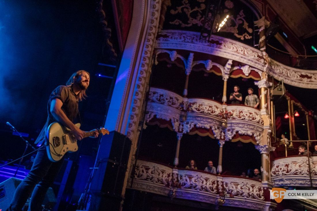 Feeder at The Olympia Theatre, Dublin 21.3.2018 by Colm Kelly-3-63