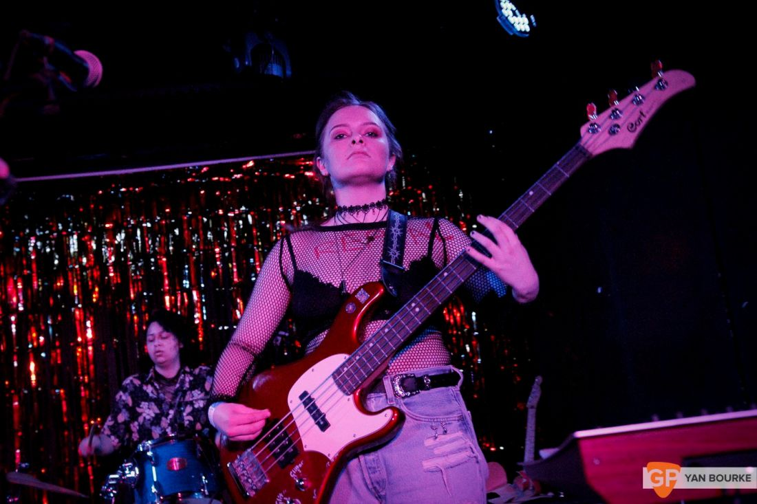 Girlfriend at The Workman's Club on 21 April 2018 by Yan Bourke