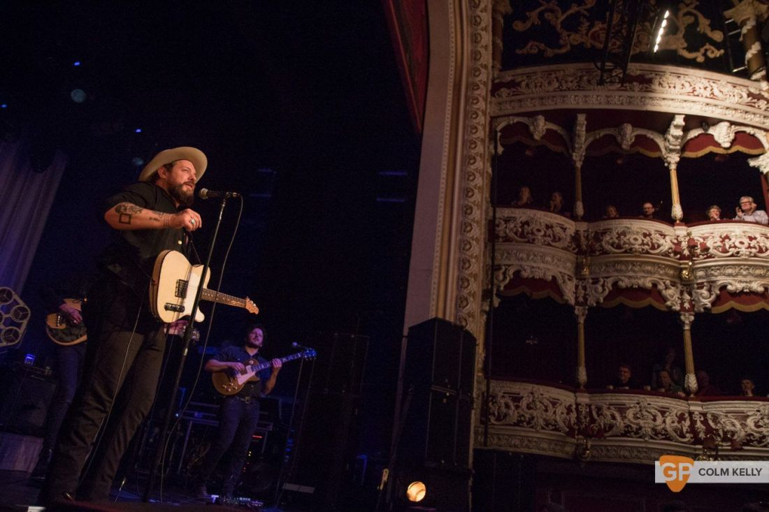 Nathaniel Radcliffe & The Nightsweats at Olympia Theatre, Dublin by Colm Kelly-1747