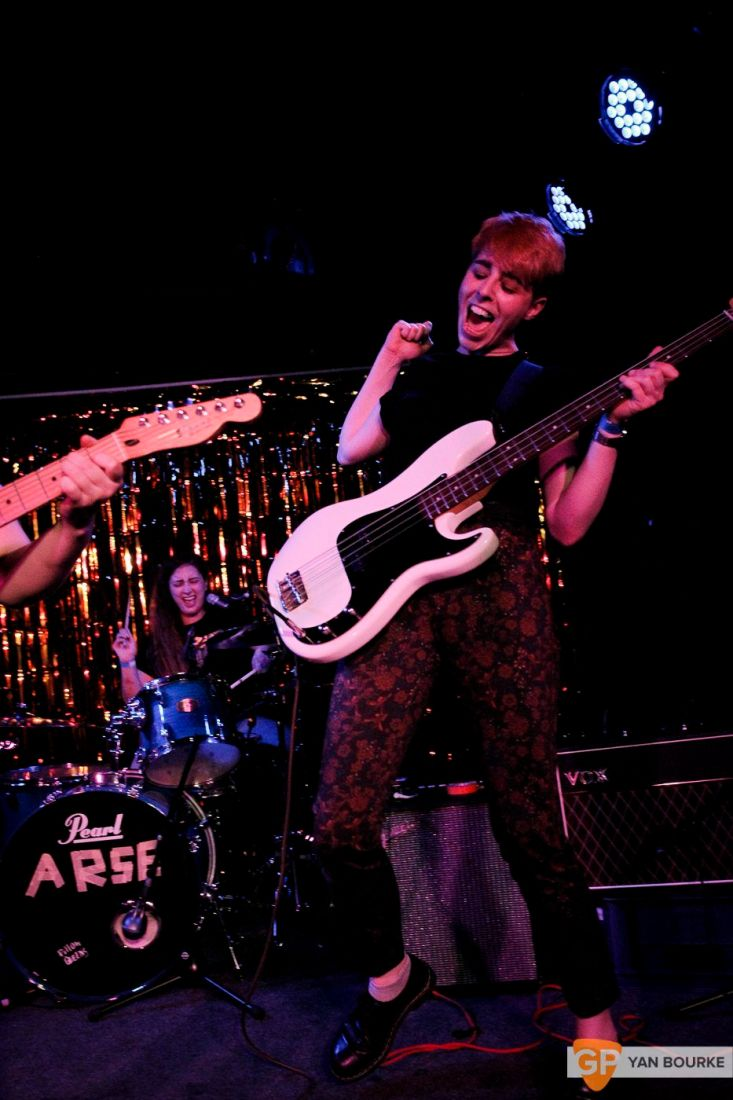 Pillow Queens at The Workman's Club on 21 April 2018 by Yan Bourke