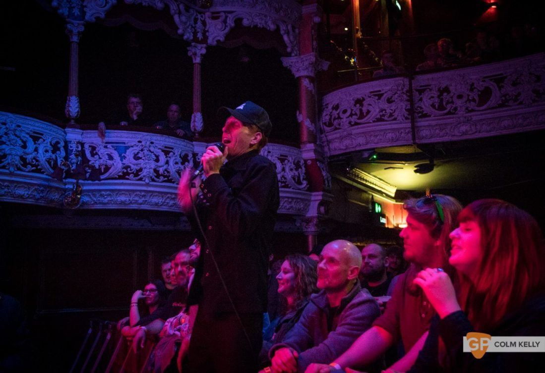 Slim Cessna's Auto Club at Olympia Theatre, Dublin by Colm Kelly-0693