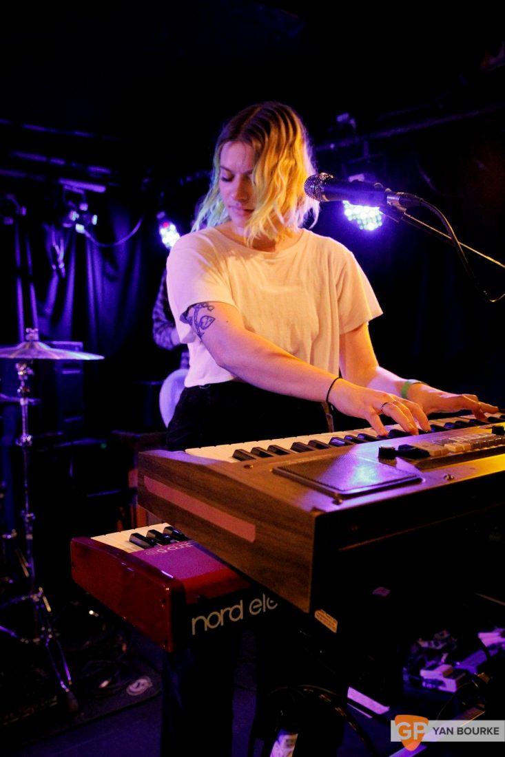 Tigers Jaw at Whelan's on 10 April 2018 by Yan Bourke