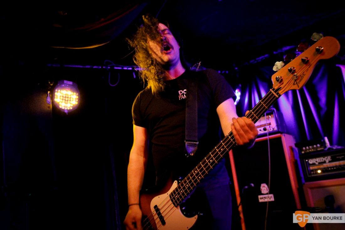 Worriers at Whelan's on 10 April 2018 by Yan Bourke