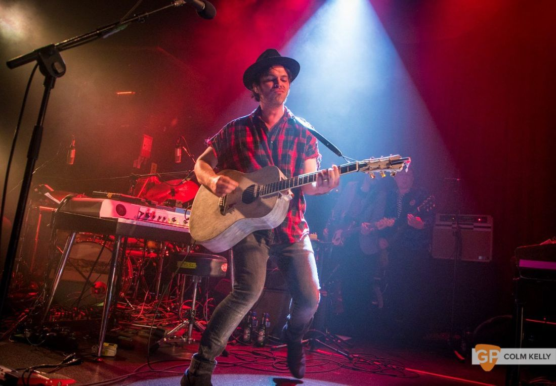 Gaz Coombes at The Academy, Dublin 25.5.2018 by Colm Kelly-5-144