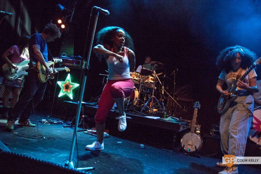 The Go! Team at The Button Factory, Dublin 3.5.2018 by Colm Kelly-5-42