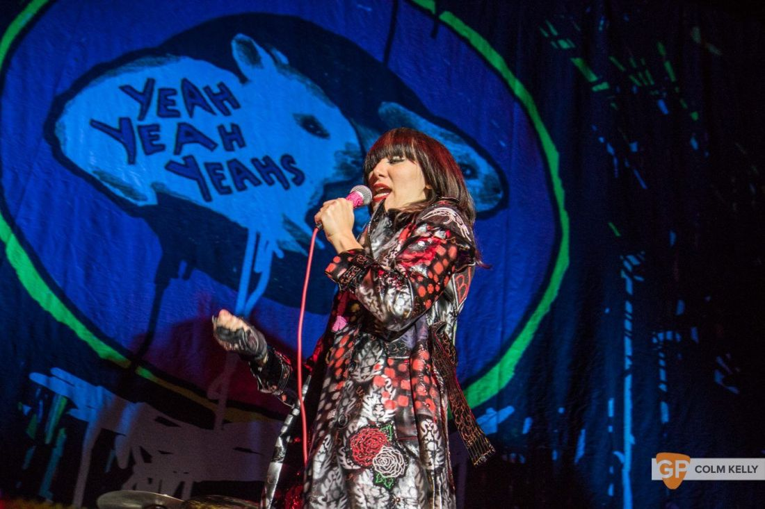 The Yeah Yeah Yeah's at The 3Arena, Dublin 23.5.2018 by Colm Kelly-5-39