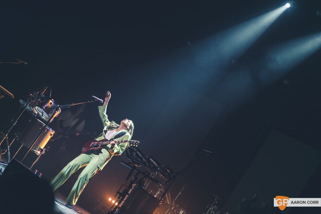 Haim at Olympia by Aaron Corr-1622