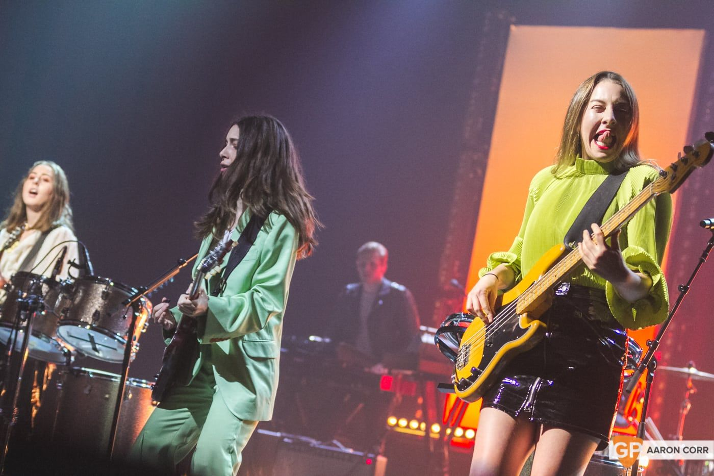 Haim at Olympia by Aaron Corr-2039