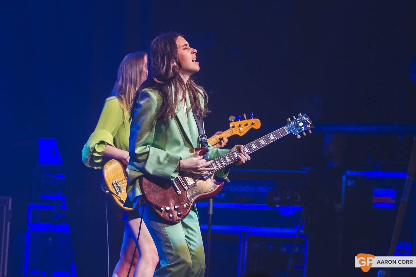 Haim at Olympia by Aaron Corr-2149