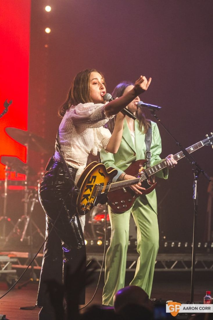 Haim at Olympia by Aaron Corr-2200