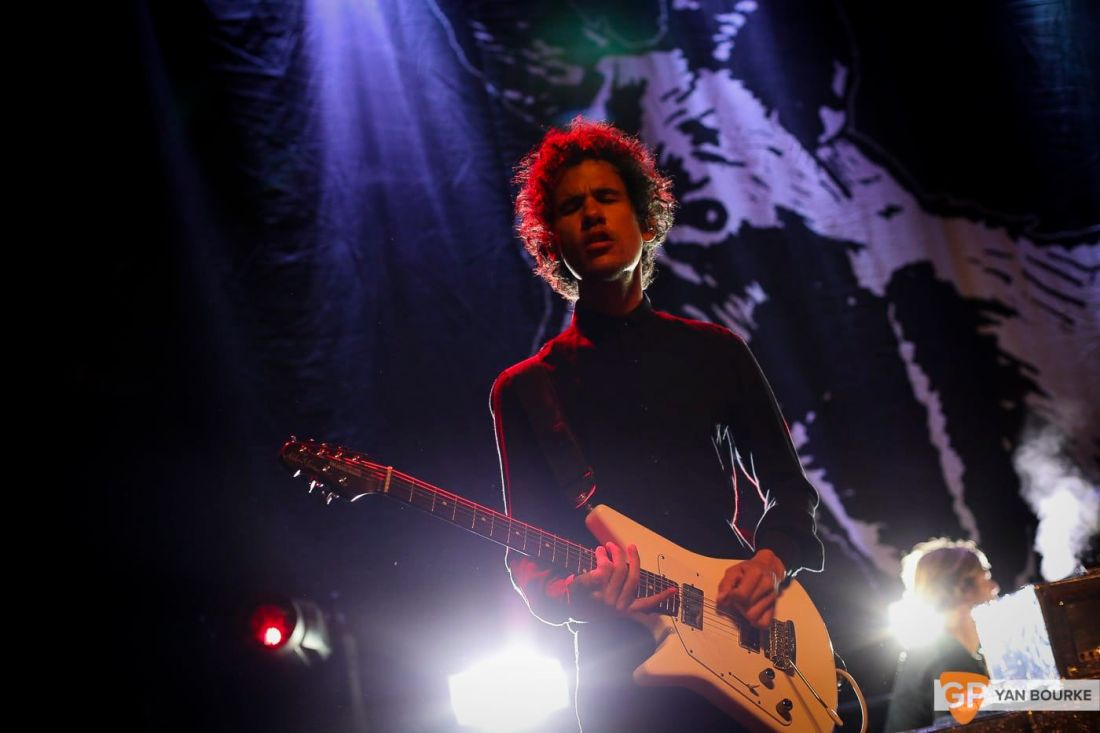 At The Drive-In at Vicar Street on 10 July 2018 by Yan Bourke