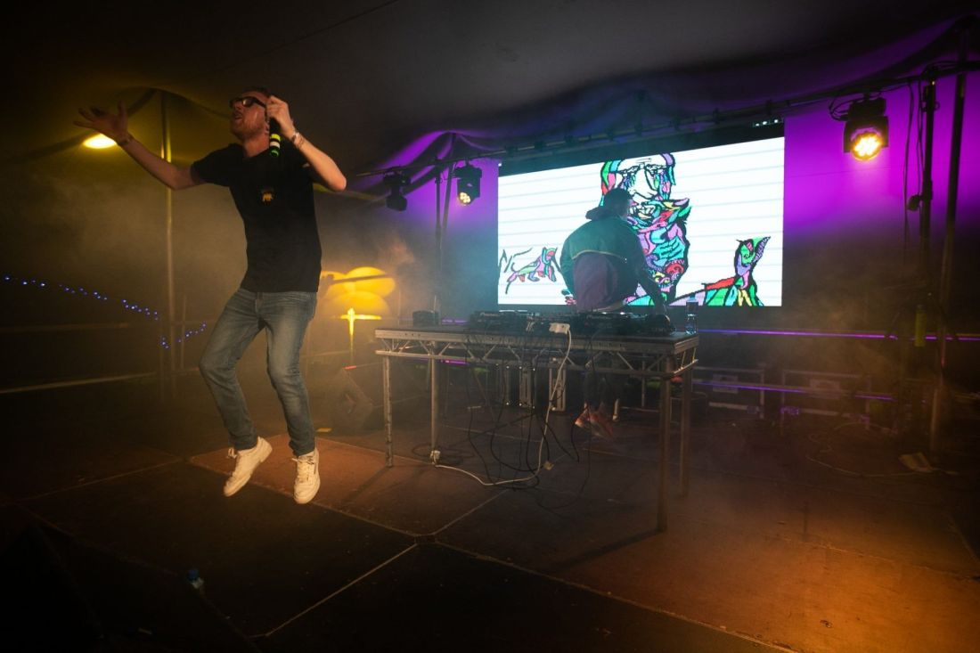Mango X Mathman perform at Indiependence Festival 2018 by Kieran