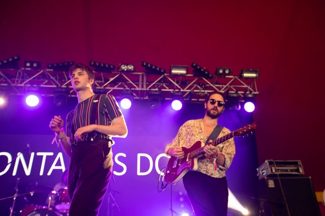 Fontaines DC perform at Indiependence 2018 by Kieran Frost