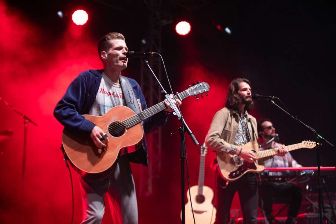 Hudson Taylor perform at Indiependence Festival 2018 by Kieran F