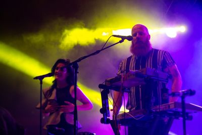 Le Galaxie perform at Indiependence Festival 2018 by Kieran Fros