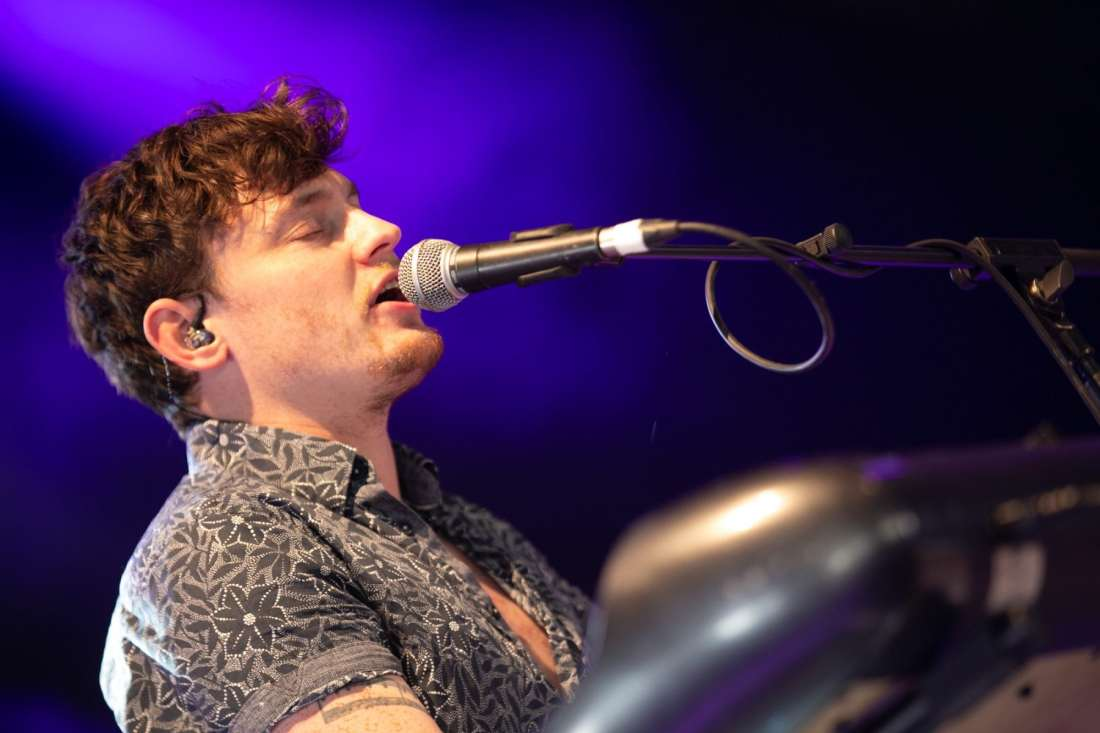 Ryan McMullan perform at Indiependence 2018 by Kieran Frost