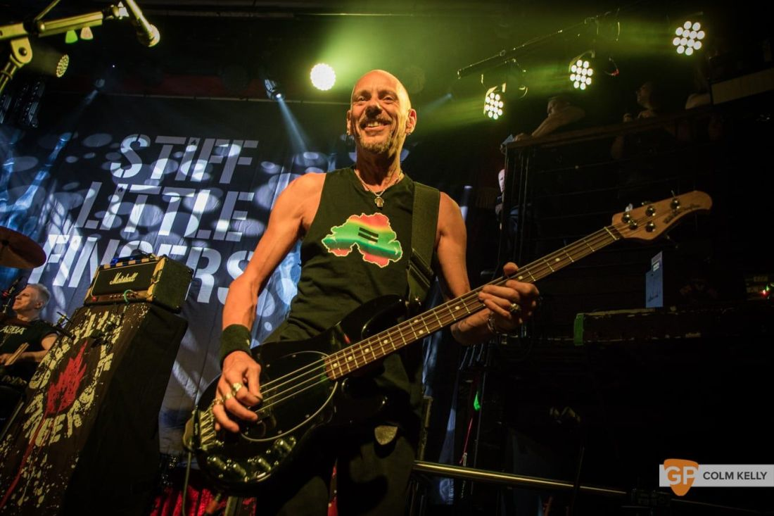 Stiff Little Fingers at The Academy, Dublin 24.8.2018 by Colm Kelly-2464
