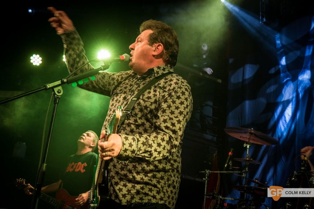 Stiff Little Fingers at The Academy, Dublin 24.8.2018 by Colm Kelly-2516
