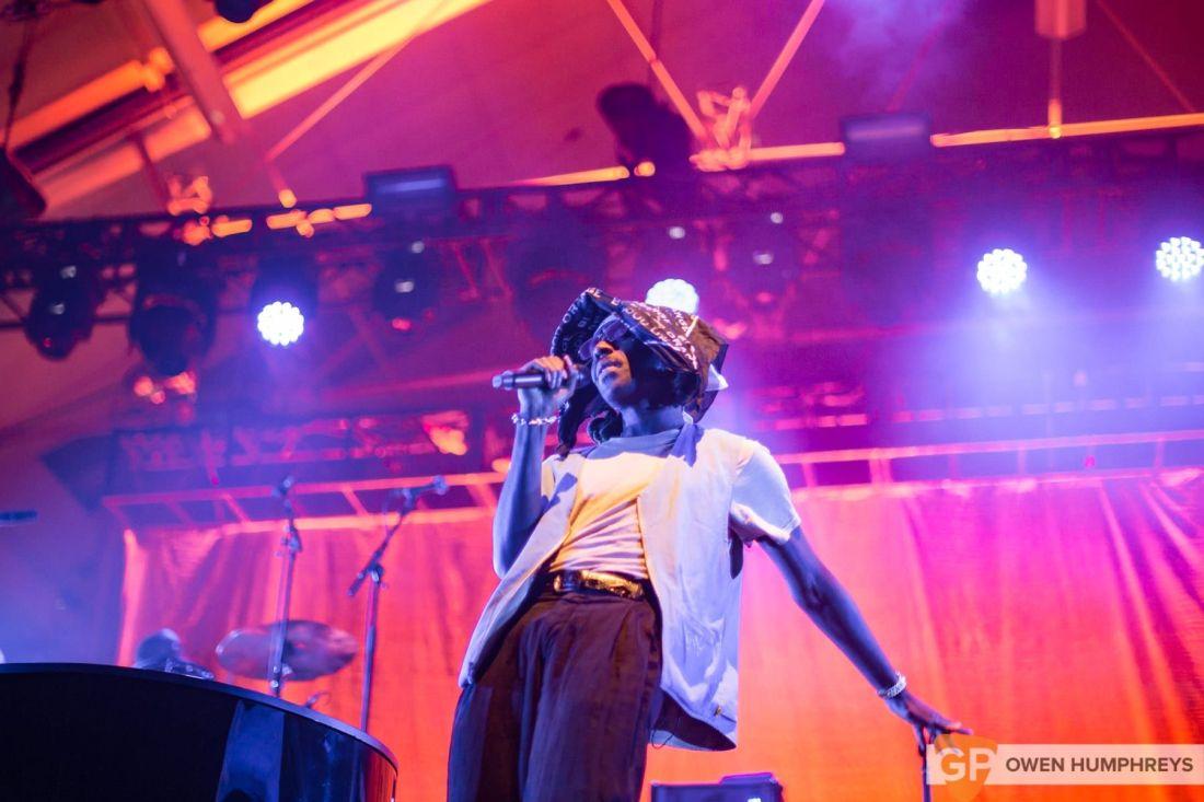 Blood Orange live at Metropolis 2018. Photo by Owen Humphreys www.owen.ie