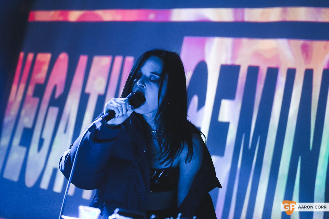 Negative Gemini at The Grand social by Aaron Corr-5820