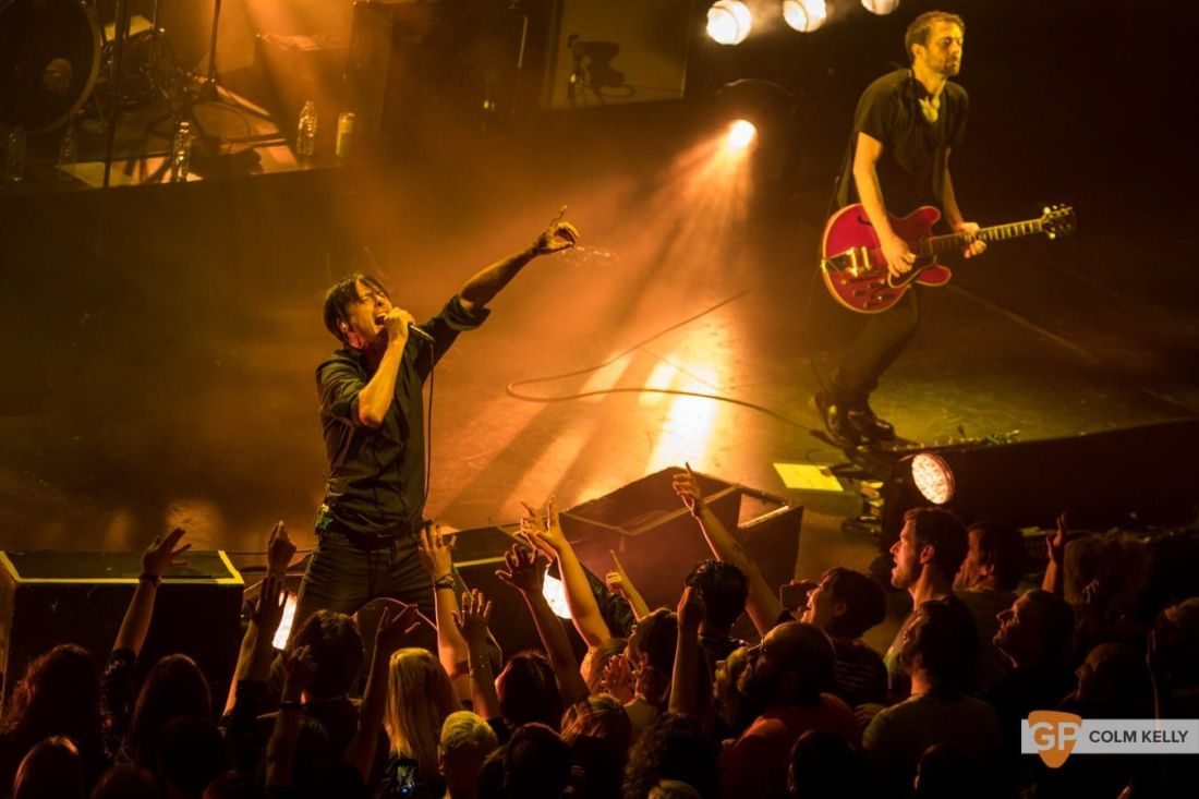 Suede at The Bord Gais Energy Theatre, Dublin by Colm Kelly-1341