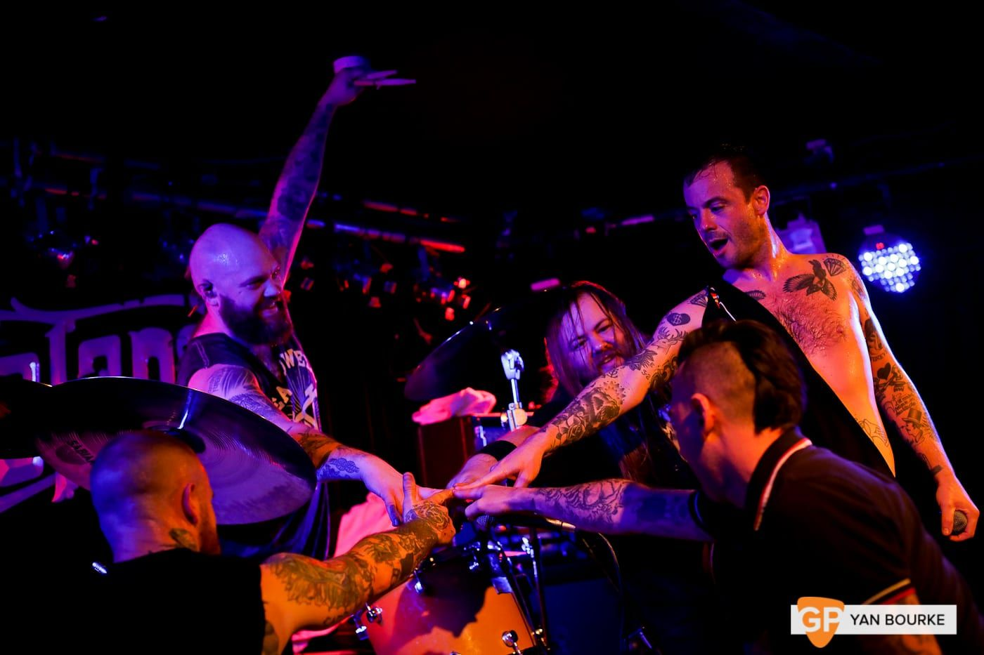 Cancer Bats  in Whelan's on 6 November 2018 by Yan Bourke