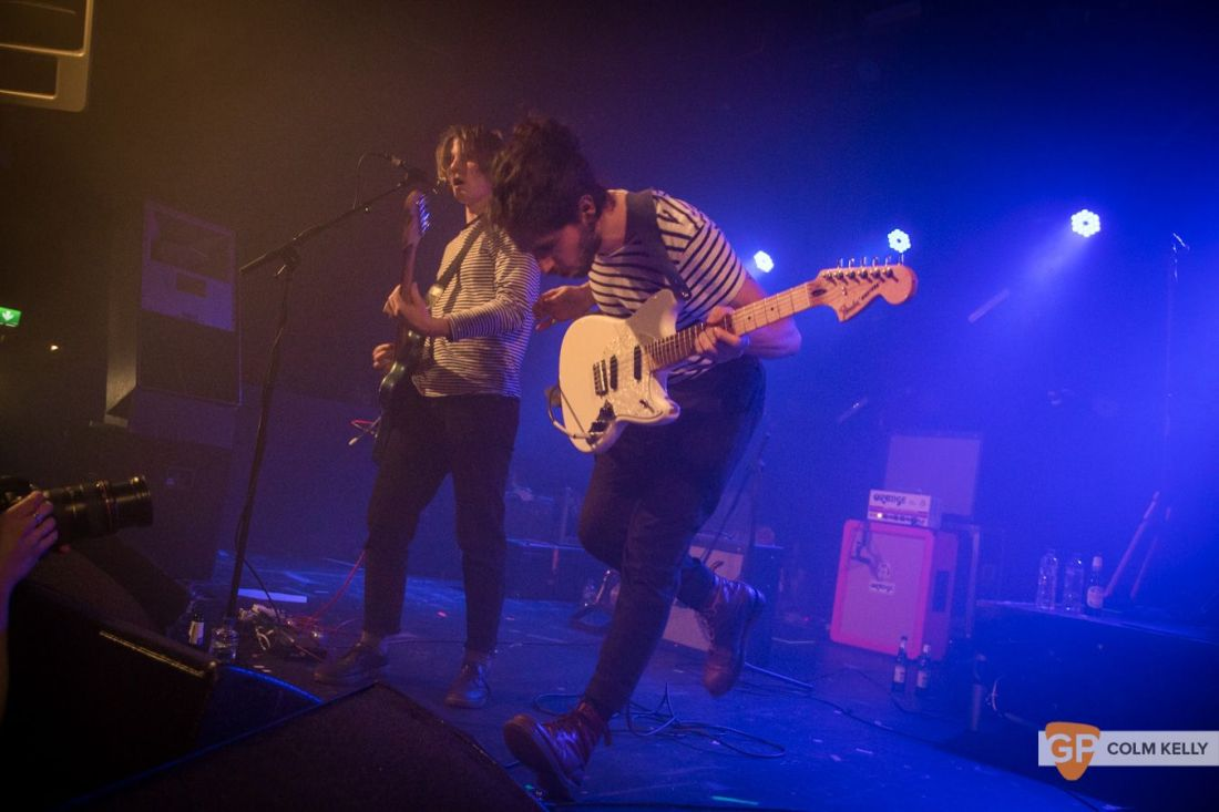 Fontaines DC at The Tivoli Theatre , Dublin by Colm Kelly