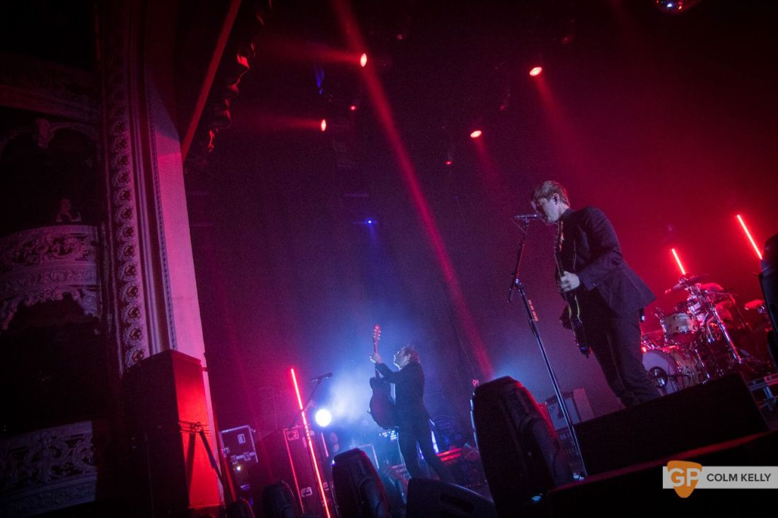 Interpol at The Olympia Theatre, Dublin by Colm Kelly-129