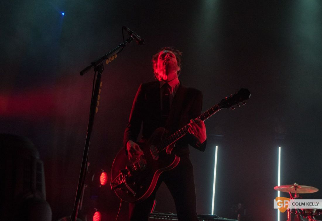 Interpol at The Olympia Theatre, Dublin by Colm Kelly-68
