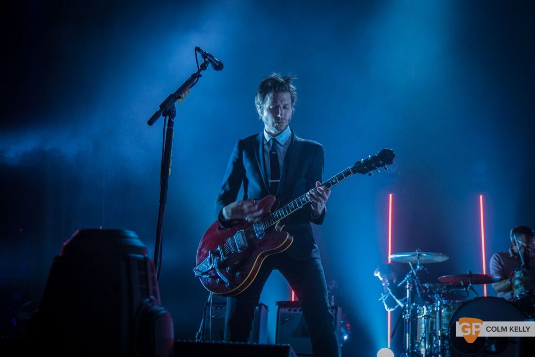 Interpol at The Olympia Theatre, Dublin by Colm Kelly-81