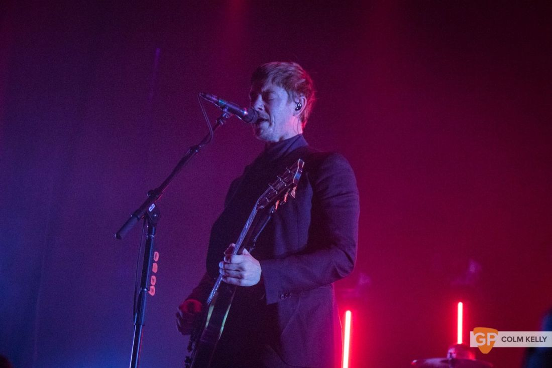 Interpol at The Olympia Theatre, Dublin by Colm Kelly-97