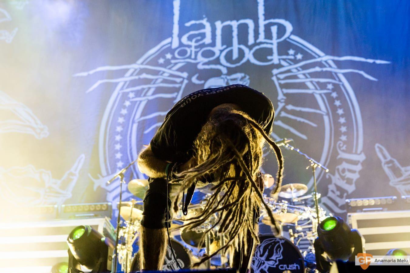 Lamb of God at 3Arena by Anamaria Meiu