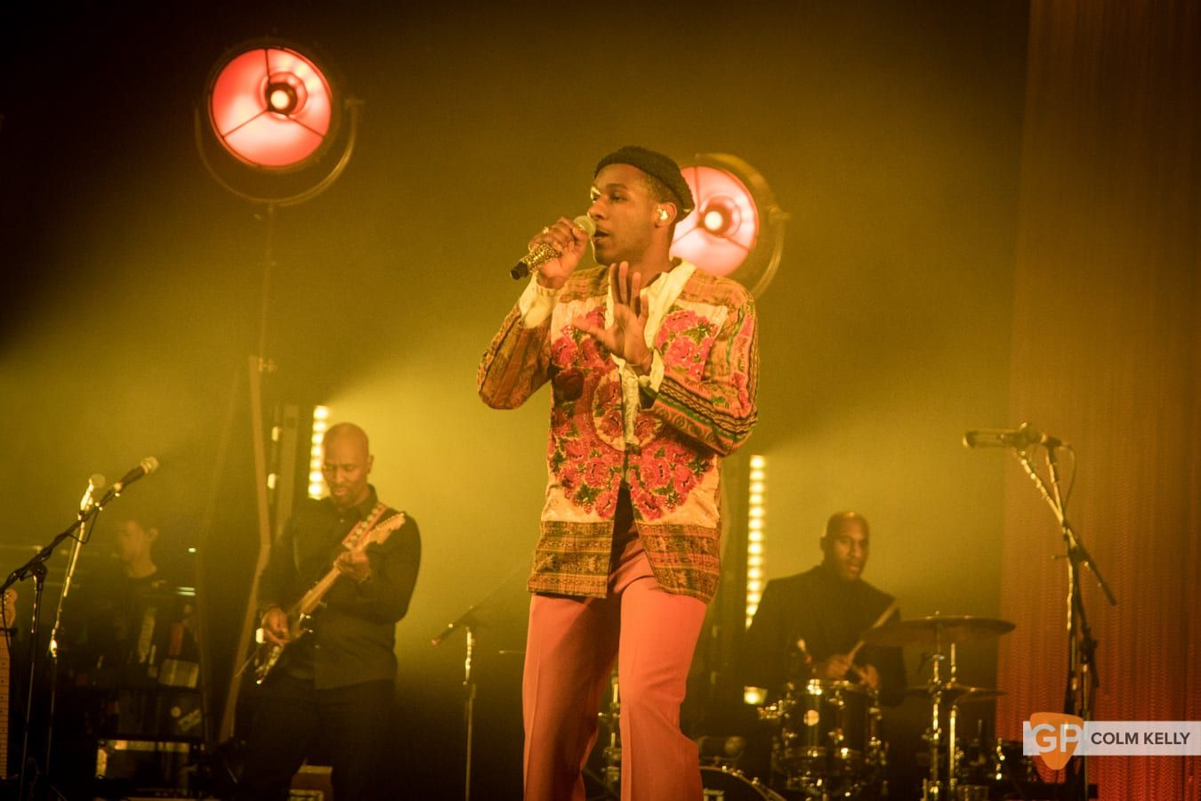 Leon Bridges at The Olympia Theatre, Dublin by Colm Kelly-1039