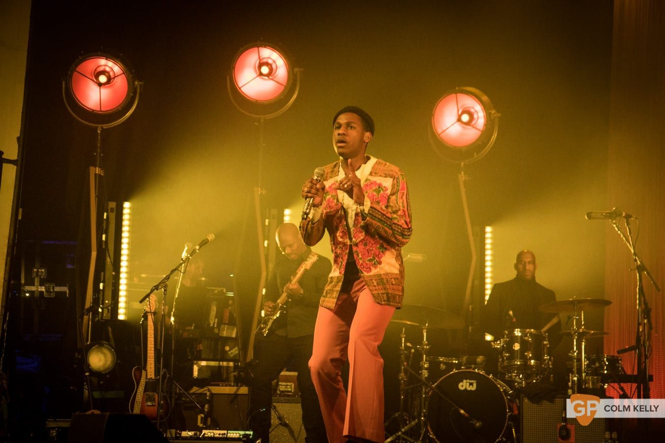 Leon Bridges at The Olympia Theatre, Dublin by Colm Kelly-1070