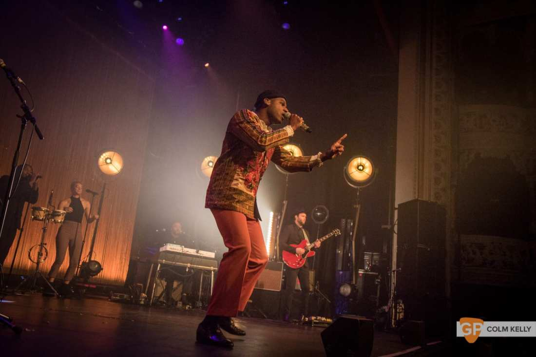 Leon Bridges at The Olympia Theatre, Dublin by Colm Kelly-122