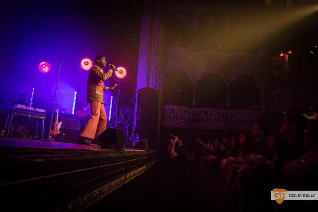 Leon Bridges at The Olympia Theatre, Dublin by Colm Kelly-668