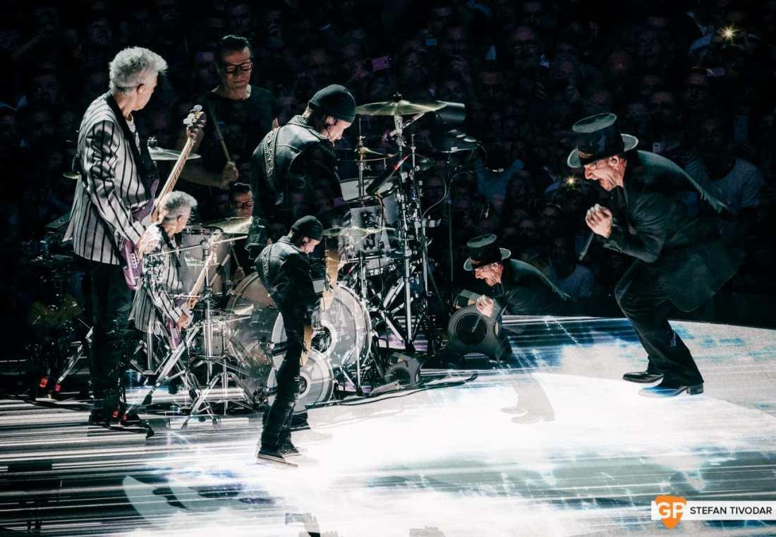 U2 6 NOVEMBER 2018 Dublin Tivodar 10