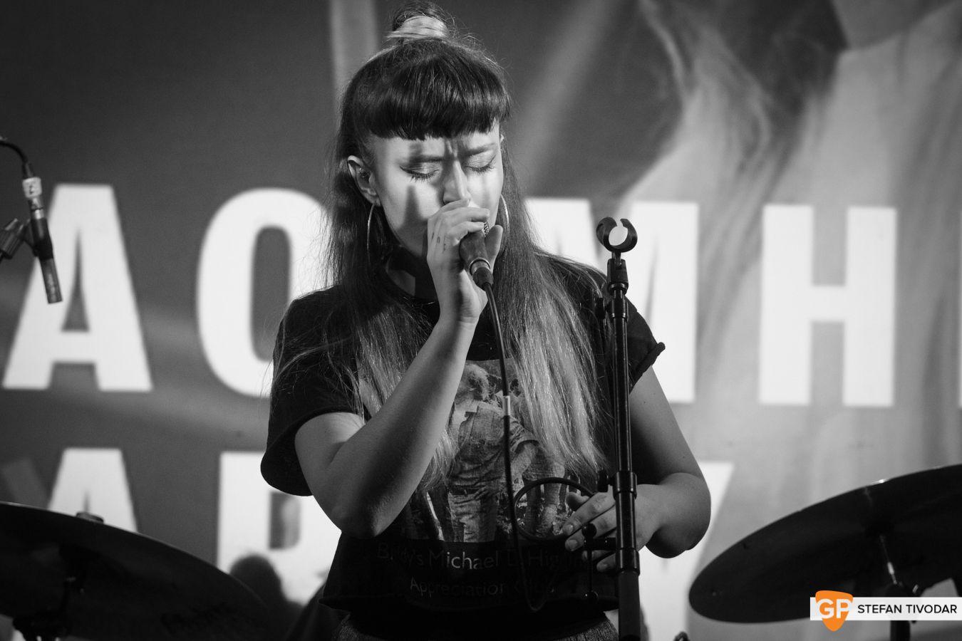 Caoimhe Barry GoldenPlec Bloc Party Jam 2018 Sugar Club 2