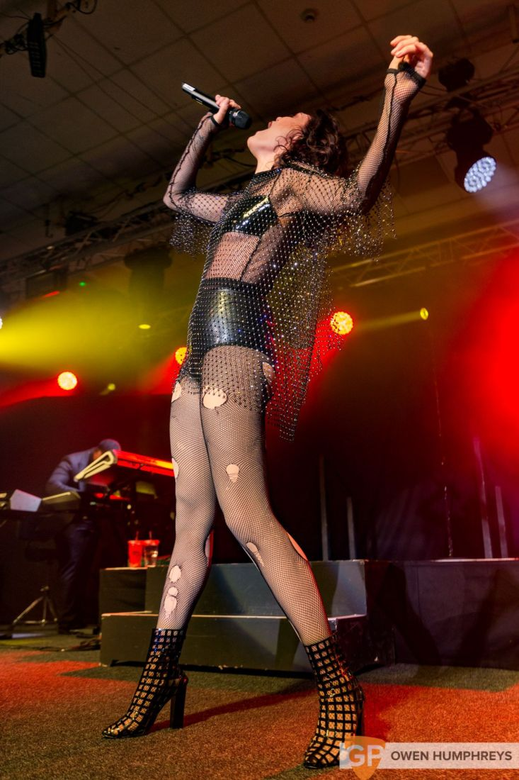 Jessie J at The National Stadium. Photo by Owen Humphreys www.owen.ie