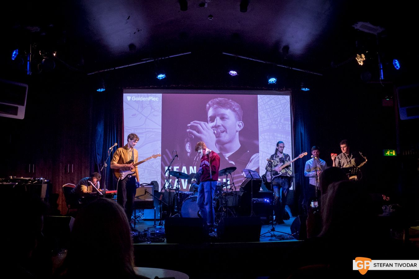 Kean Kavanagh GoldenPlec Bloc Party Jam 2018 Sugar Club 3