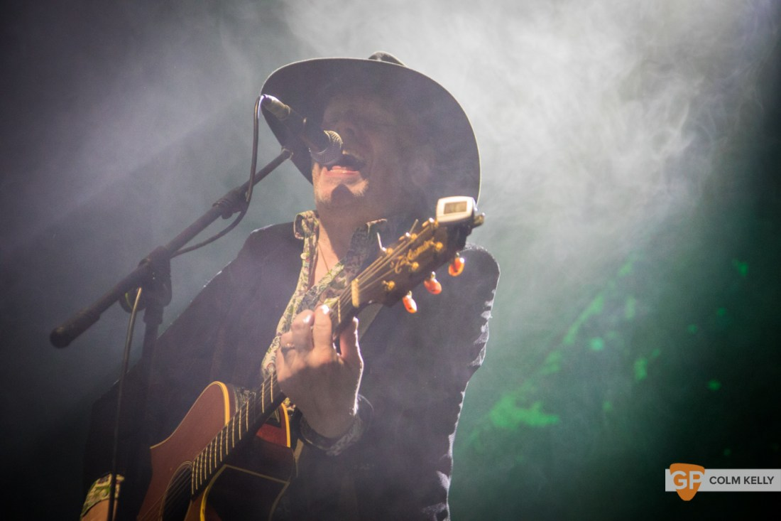 Luke Haines at Vicar Street, Dublin 18.2.2019 by Colm Kelly-11